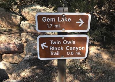 Gem Lake Trailhead